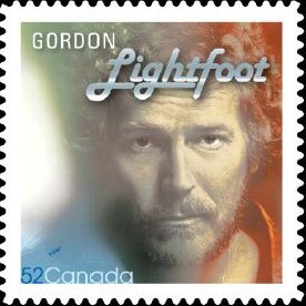 Gordon Lightfoot Canadian Stamp