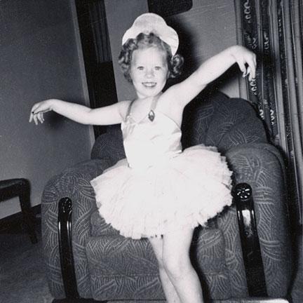 Marilyn was my pretty little ballerina