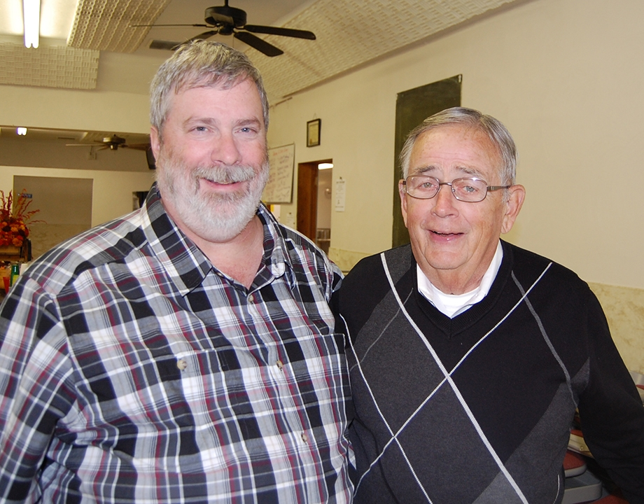 """M. Douglas Wray and William D. """"Mickey"""" Rowe - Oct. 30, 2010 - Family reunion"""