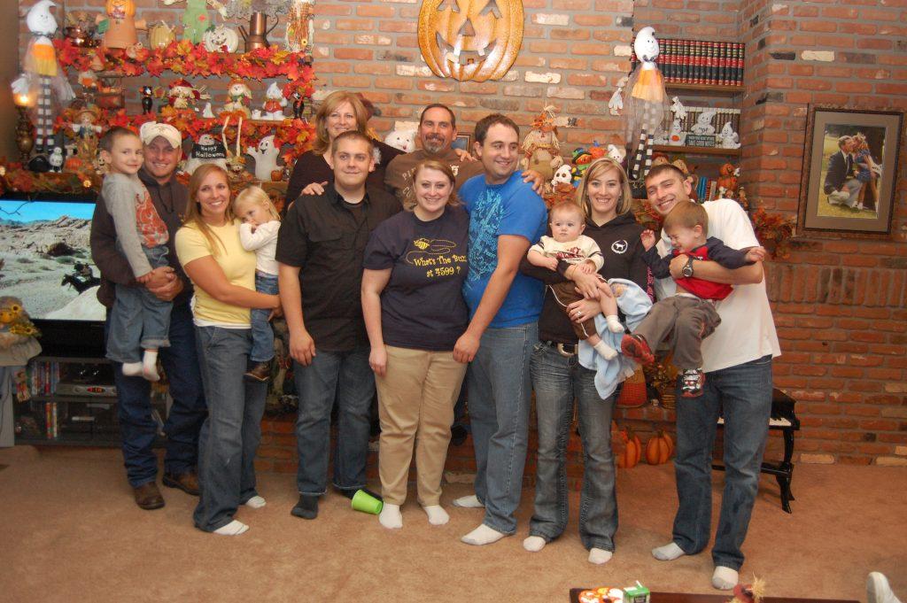 The Zander Family three generations - 2011